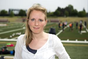 150529 Lisa Edwinsson, journalist pŒ Dagens Nyheter, poserar fšr ett portrŠtt under en trŠning med landslaget den 29 maj 2015 i Toronto. Foto: Carl Sandin / BILDBYRN / kod CS / 57659
