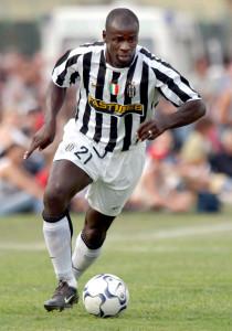 030828 Fotboll, Italiensk, Serie A: Thuram, Juventus. © BildbyrŒn - Cop 4
